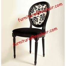 acrylic & wooden victoria chair