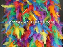 Decorative dyed boa, fashion colorful turkey feather boa