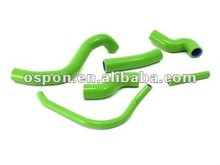 GREEN Motor Radiator Hose Kit for KAWASAKI Z1000 07- COOLANT