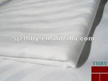 100%cotton 60*40 173*120 1cm or 3cm satin stripe bleached fabric