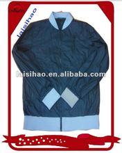 2012 men's shiny blue 100 nylon windbreaker jacket