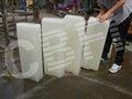 industrial de hielo de bloque que hace la máquina