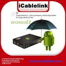 best cheap internet network 2.2/2.3/4.0 hd media player Full HD 1080P Google TV box Android