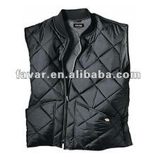 men's 100% polyester winter warmer Vest safety vest