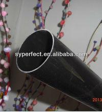 Plastic Tube Rigid 55mm Shiny Black UPVC Pipe 52.3mm Inside Diameter With 432mm Length Used For Telescope