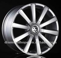 ZW-556 New!Hot-seller black car alloy wheel rims export to the world