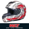 White ECE Full face helmet WLT-101 White/6#