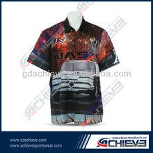 Custom Full Digital Sublimation Graphics Motorcycle Racing wear