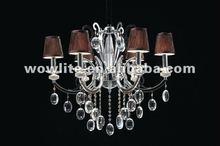 2012 newly modern crystal chandelier D90011-6
