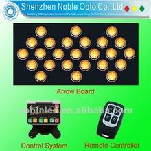 Super vision LED light traffic arrow board