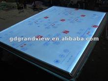 new design led diy light box aluminum frame for led display