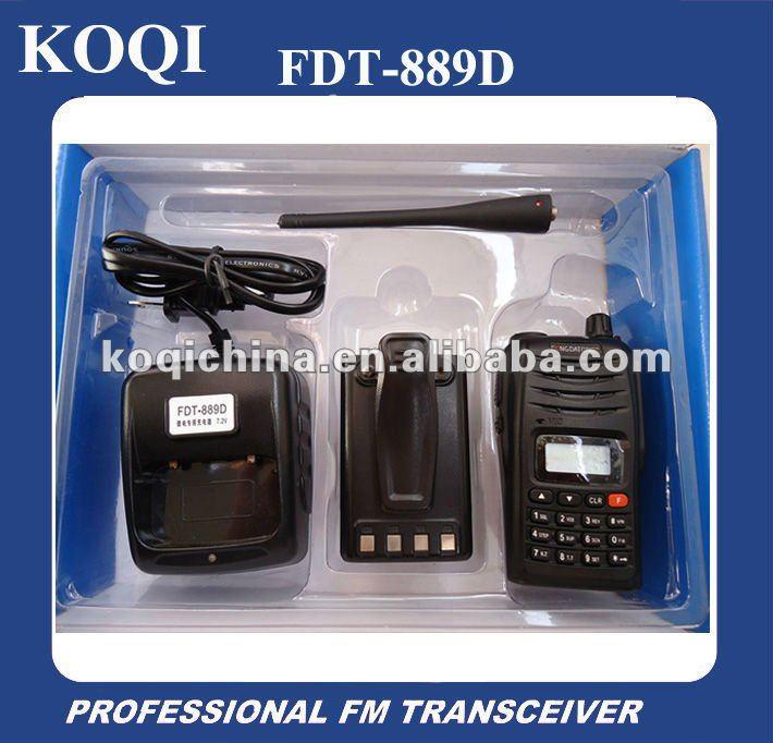 FDT 889D VHF UHF Long Range Amateur 5. Start or support a backpack feeding program.