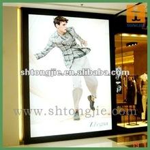 high quality advertising light box film printing/custom post printing