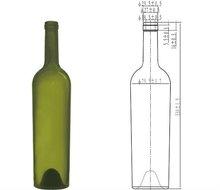 1.5l glass wine bottles