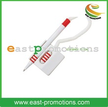 Retractable Plastic Novelty Shaped Logo Ball Pen