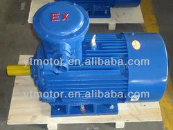 YB2 three phase frameproof 3 phase 400v electric motor