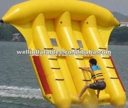 Top quality inflatable banana fly fish / flyfish banana boat