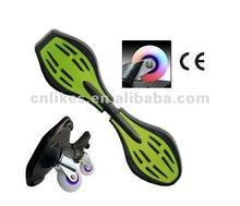 3 wheel skateboard snake board