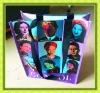 fashion tote shopping bag with laminated