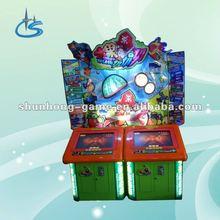 Fruit splash amusement video machine