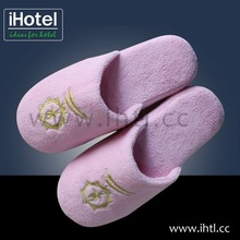 woman low price soft and comfortable terry cloth slipper