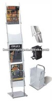 top abs leaflet stand acrylic stand