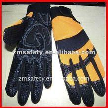 Hand protective impact mechanic glove