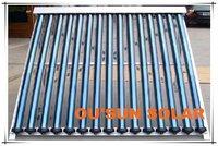 Heat pipe vacuum tune solar collector