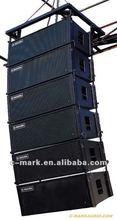 """2 x 12"""" Active Neodymium/Ferrite Line array loudspeaker"""