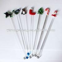 glass stir stick mixing stirrer swizzle stick