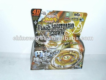 PLASTIC SPINNING TOP TOY LIGHT TOP PAFBB-126