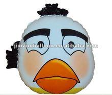 white Bird helium balloon