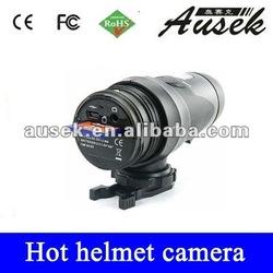 waterproof Full HD internal memory helmet video recorder