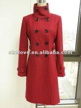2012 new design lady overcoat