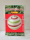 Decorated Christmas Ornaments LED light