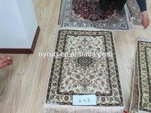 antique wash silk rug