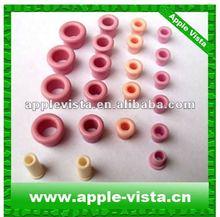 Textile ceramic guide pulley, ceramic guide