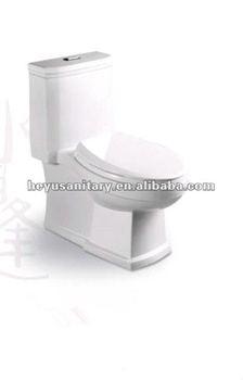 bathroom ceramic sanitary ware siphonic one piece toilet