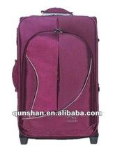 2012 new style leisure trolley bag& silk luggage