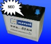 N55dry charged auto battery