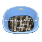 plastic pet bed with mat