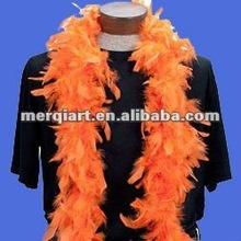 Fashion school feather boa
