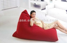 with backing pad relaxing beanbag sofa bed