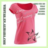 Ladies t-shirt printing