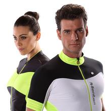 New customized fitness mens&women racing cycling jersey/biking clothing/sportswear+cycling shorts&bib for couples
