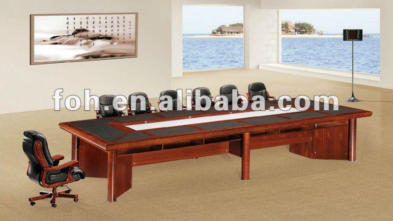 u Shape Conference Table Design u Shape Wooden Conference