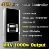 40A 12v 24v 48v 1000W MPPT solar controller solar charge controller