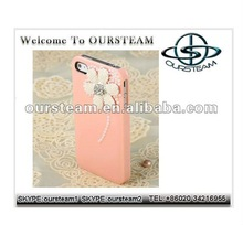 Dimaond Pearl Bling Crystal Hard Back Case Cover For iPhone 4 4S 2012 new style