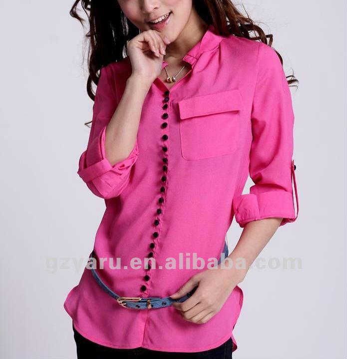 Nuevas blusas de moda 2013 para el verano