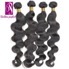Tangle Free Natural Body Wave Virgin Peruvian Hair